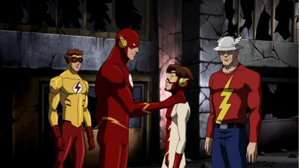 The Flash Kid Flash Barry Allen Jay Garrick