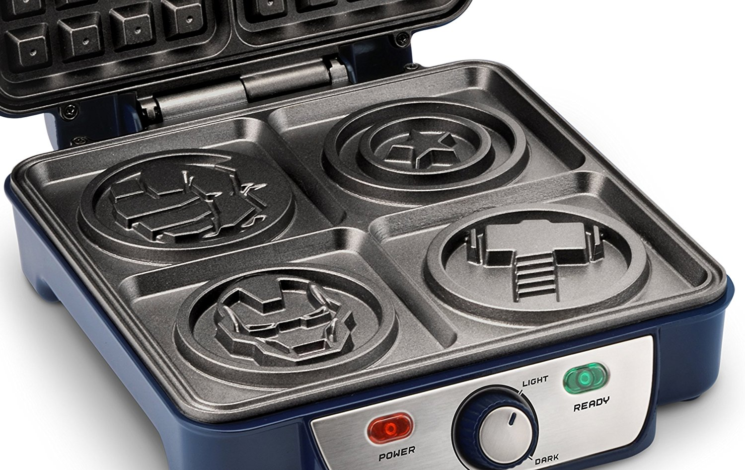 Avengers Waffle Iron Marvel's Top 2 Waffle Makers that you need to know