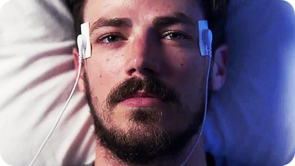 Barry Allen resting in bed with beard looks