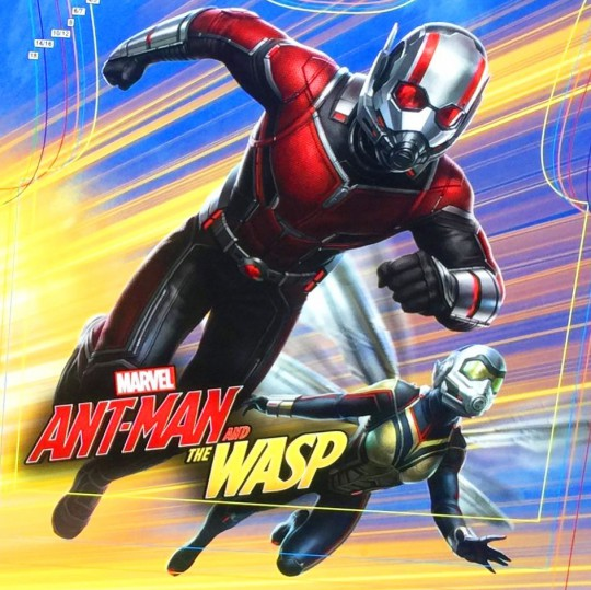 Ant-Man & the Wasp promo art