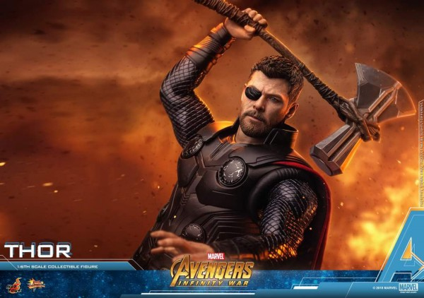 Thor's new weapon Stormbreaker