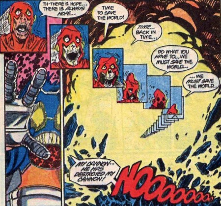 Flash Sacrifies during crisis on infinite earth