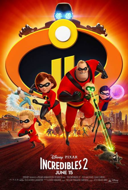 Incredibles 2 official movie poster