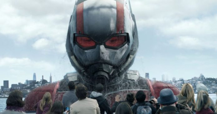 Scott Lang as Giant-Man in Ant-Man & the Wasp trailer 2