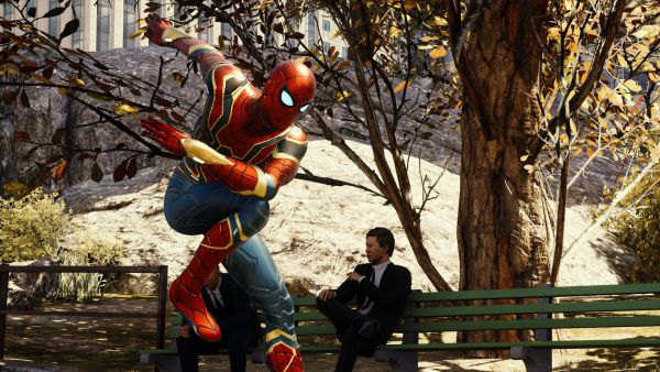 Iron Spider costume ps4