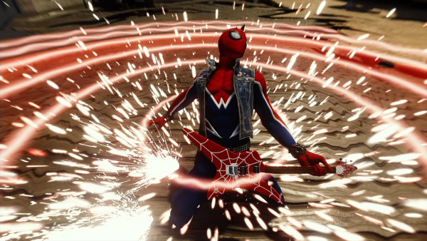 Spider-Man Punk ps4 suit