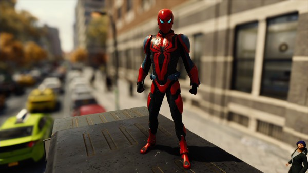 Spider-Man Armor mark III costume