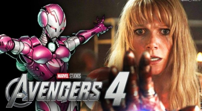 Avengers 4 Pepper Potts' as Rescue
