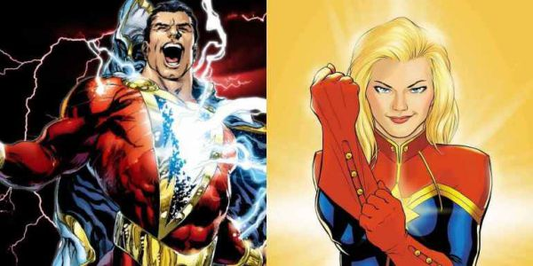 Shazam and Captain Marvel